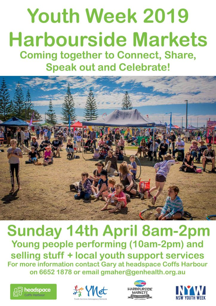 #youthweek #youth #markets #harbourside #coffsharbour #coffscoast